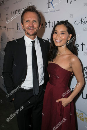 Sebastian Roche (Orgon) and Alicia Hannah