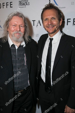 Christopher Hampton (Adaptation) and Sebastian Roche (Orgon)