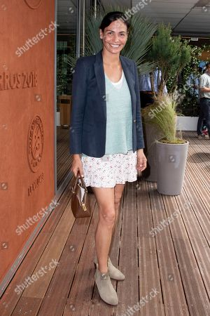 Editorial photo of French Open, Celebrities, Stade Roland Garros, Paris, France - 28 May 2018