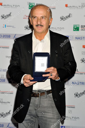 Rome, Photocall for the Announcement of the Cinquine of the Silver Ribbons Pictured Carlo Buccirosso