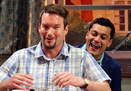 Gareth David-Lloyd as Walt and Matt Barkley as Jack