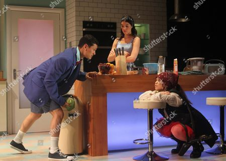 Matt Barkley as Jack, Gala Gordon as Barb and Adrianna Bertola as Jill