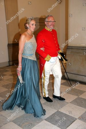 Princess Alexandra (Berleburg) and her boyfriend Count Michael Ahlefeldt-Laurvig