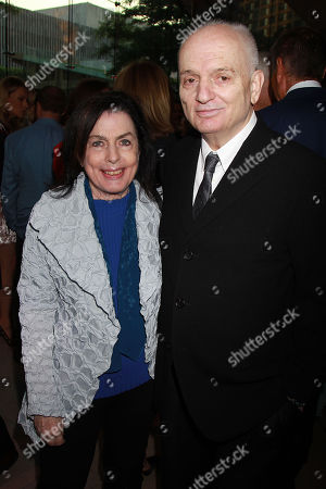 David Chase with Wife