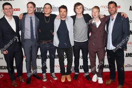 Paul Davidson, Blake Jenner, Jared Abrahamson, Bart Layton, Evan Peters, Barry Keoghan, Brad Navin