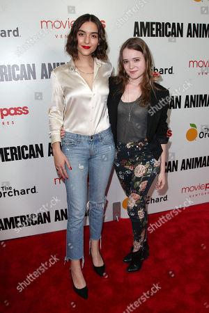 Quinn Shephard and Nadia Alexander