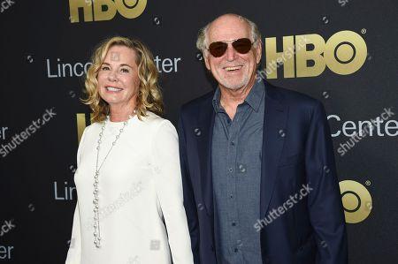 Jane Slagsvol, Jimmy Buffett. Musician Jimmy Buffett and wife, Jane Slagsvol,