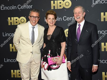 Stock Picture of Russell Granet, Adrienne Arsht, Steve Swartz. Executive vice president of Lincoln Center for the Performing Arts Russell Granet, left, gala co-chair Adrienne Arsht and Hearst president and CEO Steve Swartz attend the Lincoln Center for the Performing Arts American Songbook Gala at Alice Tully Hall, in New York