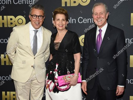Russell Granet, Adrienne Arsht, Steve Swartz. Executive vice president of Lincoln Center for the Performing Arts Russell Granet, left, gala co-chair Adrienne Arsht and Hearst president and CEO Steve Swartz attend the Lincoln Center for the Performing Arts American Songbook Gala at Alice Tully Hall, in New York