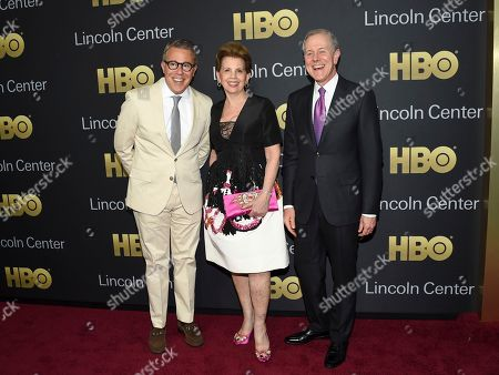 Stock Image of Russell Granet, Adrienne Arsht, Steve Swartz. Executive vice president of Lincoln Center for the Performing Arts Russell Granet, left, gala co-chair Adrienne Arsht and Hearst president and CEO Steve Swartz attend the Lincoln Center for the Performing Arts American Songbook Gala at Alice Tully Hall, in New York