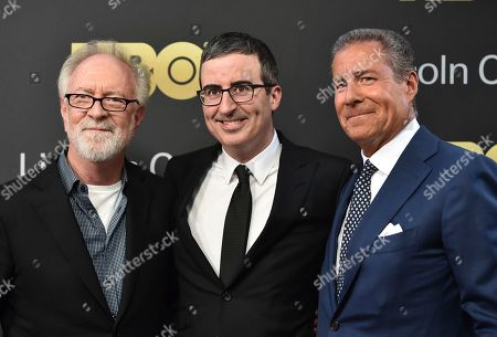 Gary Goetzman, John Oliver, Richard Plepler. Gary Goetzman, left, John Oliver and honoree Richard Plepler attend the Lincoln Center for the Performing Arts American Songbook Gala at Alice Tully Hall, in New York