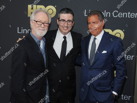 Stock Picture of Gary Goetzman, Fareed Zakaria and John Oliver