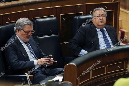 Inigo Mendez de Vigo and Juan Ignacio Zoido