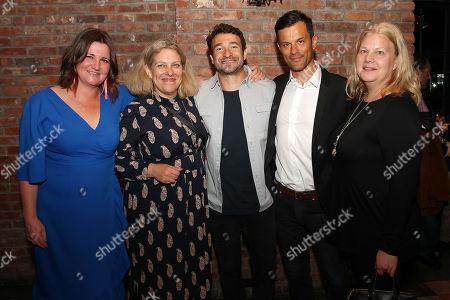Katherine Butler, Derrin Schlesinger, Bart Layton (Writer, Director), Dimitri Doganis and Mary Jane Skalski