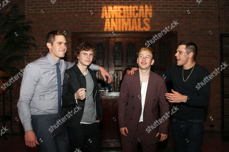Blake Jenner, Evan Peters, Barry Keoghan and Jared Abrahamson