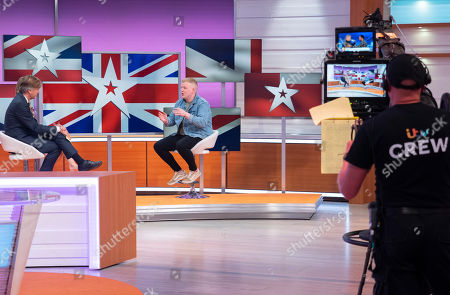 Editorial photo of 'Good Morning Britain' TV show, London, UK - 30 May 2018