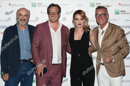 Ivano Marescotti, Gabriele Muccino, Carolina Crescentini, Massimo Ghini