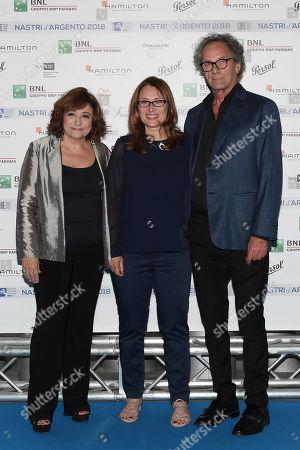 Laura Delli Colli, Nicoletta Mantovani, Mohammad Mohammed Bakri