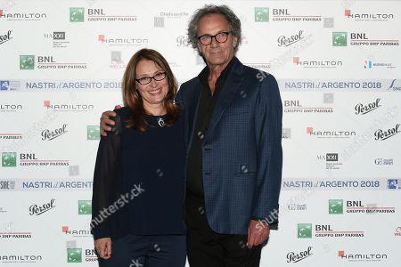 Editorial photo of Nastri d'Argento Awards, Rome, Italy - 29 May 2018