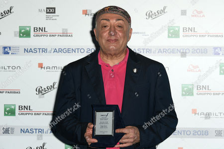 Editorial image of Nastri d'Argento Awards, Rome, Italy - 29 May 2018