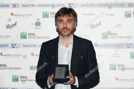 Editorial picture of Nastri d'Argento Awards, Rome, Italy - 29 May 2018