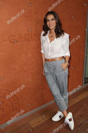 Elisa Tovati at Le Village de Roland Garros