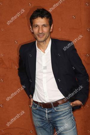 Kamel Belghazi at Le Village de Roland Garros