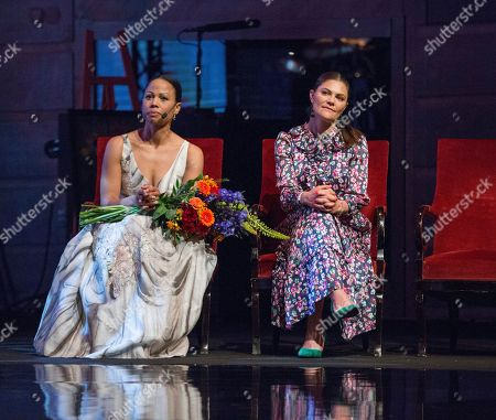 Alice Bah Kuhnke, Swedish minister of Culture, Crown Princess Victoria