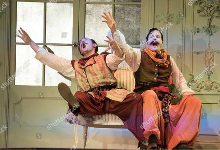 Nick Pritchard as Ferrando, Nicholas Lester as Guglielmo