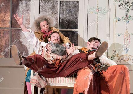 Editorial photo of 'Cosi Fan Tutti' Opera performed by Holland Park Opera, London, UK - 29 May 2018