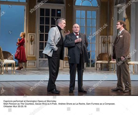 Capriccio performed at Garsington Opera at Wormsley  Miah Persson as The Countess, Gavan Ring as A Poet, Andrew Shore as La Roche, Sam Furness as a Composer