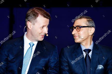Rajeev Suri and Risto Siilasmaa
