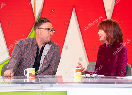 Janet Street-Porter and Danny Wallace