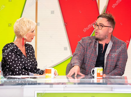 Denise Van Outen and Danny Wallace