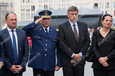 Willy Borsus, Jan Jambon, Christine Defraigne