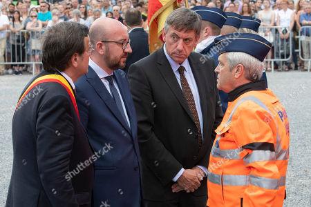 Willy Demeyer, Charles Michel, Jan Jambon
