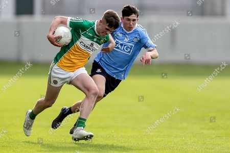 Stock Photo of Offaly vs Dublin. Offaly's Cathal Donoghue and Alex Watson of Dublin
