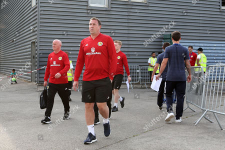 Malky Mackay arrives at the ground during Scotland Under-21 vs France Under-20, Tournoi Maurice Revello Football at Stade d'Honneur Marcel Roustan on 30th May 2018