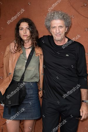 Elie Chouraqui and daughter Sarah