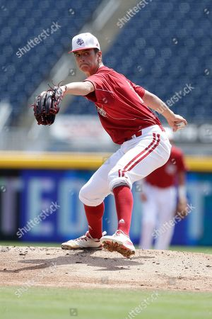 Louisville pitcher Bobby Miller throws during an Atlantic Coast Conference NCAA college baseball tournament championship game against Florida State in Durham, N.C