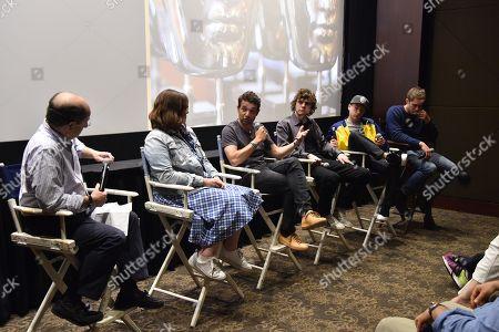 Brian Rose, Katherine Butler, Bart Layton, Evan Peters, Barry Keoghan and Blake Jenner