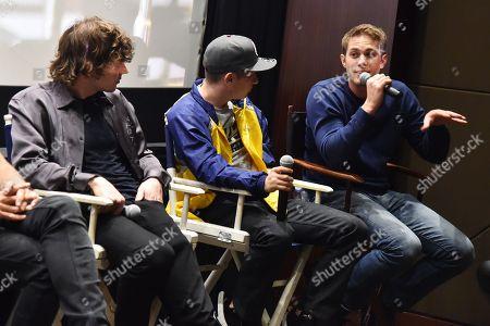 Evan Peters, Barry Keoghan and Blake Jenner