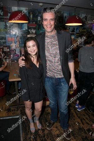 Adrianna Bertola (Jill) and Steve Marmion (Director)