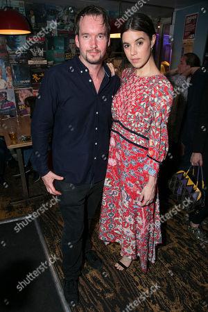Gareth David-Lloyd (Walt) and Gala Gordon (Barb)