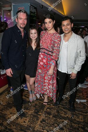 Gareth David-Lloyd (Walt), Adrianna Bertola (Jill), Gala Gordon (Barb) and Matt Barkley (Jack)