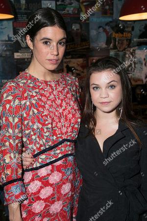 Gala Gordon (Barb) and Adrianna Bertola (Jill)