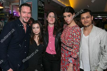 Gareth David-Lloyd (Walt), Adrianna Bertola (Jill), Mary Laws (Author), Gala Gordon (Barb) and Matt Barkley (Jack)