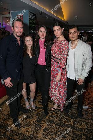 Stock Picture of Gareth David-Lloyd (Walt), Adrianna Bertola (Jill), Mary Laws (Author), Gala Gordon (Barb) and Matt Barkley (Jack)