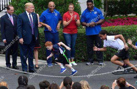 Editorial image of Trump Youth Sports, Washington, USA - 30 May 2018