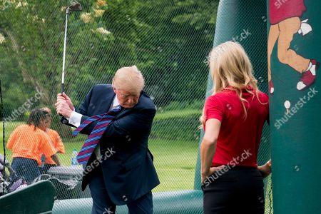 Editorial image of Trump Youth Sports, Washington, USA - 29 May 2018
